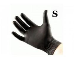 Перчатки латекс чёрные (20 шт. размер S)